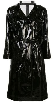 Wet-look Trench Coat - Alexa Chung