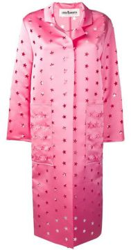 Cut Out Stars Coat - Caban Romantic