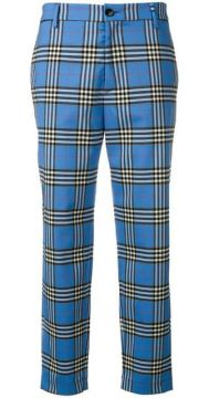 Check Tailored Trousers - Barena