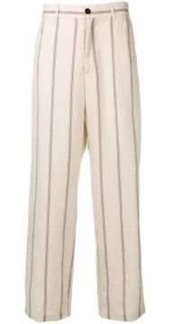 Striped Loose Trousers - Barena