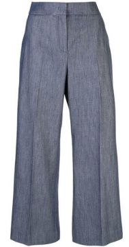 Denim Wide-leg Trousers - Derek Lam