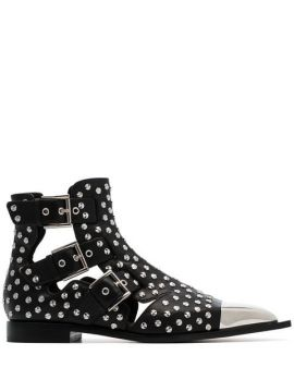Studded Ankle Boots - Alexander Mcqueen