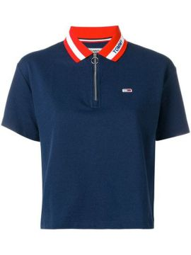 Camisa Polo Com Contraste - Tommy Jeans