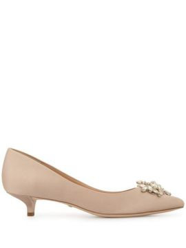 Kitten Heel Pumps - Badgley Mischka