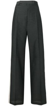 Side Stripe Tailored Trousers - Rick Owens