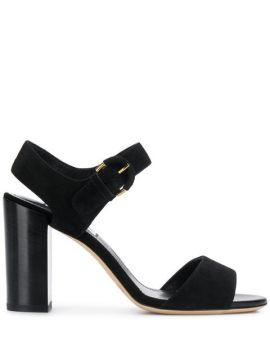 Chunky Heel Sandals - Tods