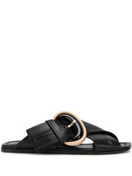 Crossover Strap Sandals - Agl