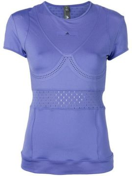 Perforated Detail T-shirt - Adidas By Stella Mccartney