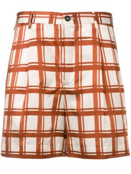 Check Pattern Short Short - Berwich