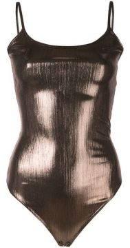 Keen Metallized Bodysuit - Alix