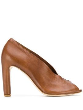 Peep-toe Pumps - Del Carlo