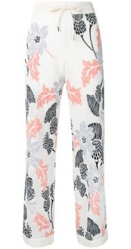 Floral Embroidered Trousers - Barrie