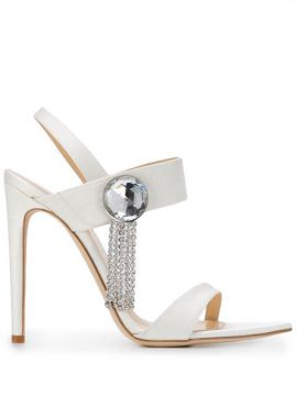 Embellished High Heel Sandals - Chloe Gosselin