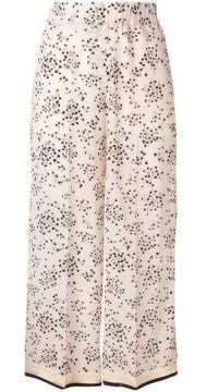 Small Floral Print Trousers - Alysi