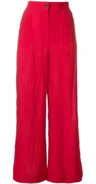 Wrinkled Effect Trousers - Alysi