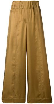 Cropped Palazzo Trousers - Alysi