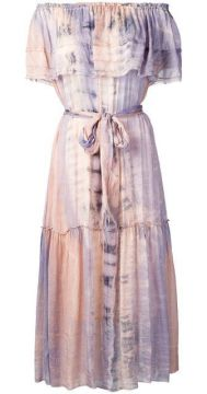 Tie-dye Midi Dress - Raquel Allegra