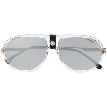 Leather Snap Detail Sunglasses - Carrera