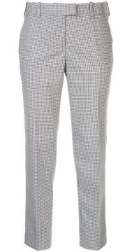 Checked Tailored Trousers - Cefinn