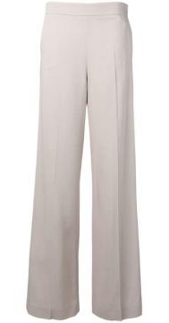 High-waisted Tailored Trousers - Blumarine