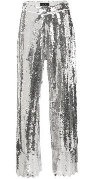 Wide-leg Flared Trousers - Dima Ayad