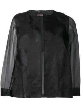 Sheer Panelled Jacket - Max Mara