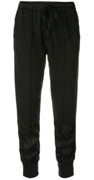 Drawstring Tapered Trousers - Andrea Yaaqov