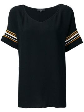 Striped Sleeve Tunic - Antonelli