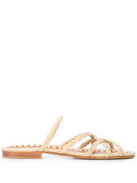 Noura Braided Sandals - Carrie Forbes