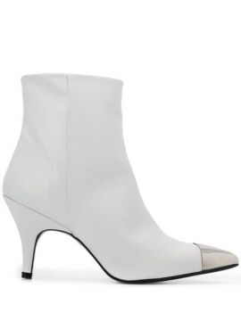 Metal Toe-cap Ankle Boots - Kendall+kylie