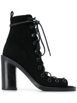 Open-toe Ankle Boots - Ann Demeulemeester