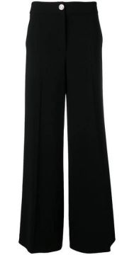 Wide-leg Trousers - Boutique Moschino