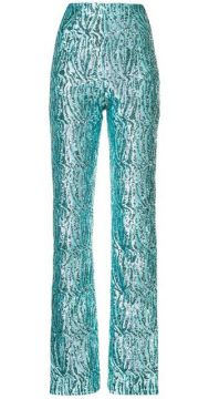 High Waisted Embellished Trousers - 16arlington