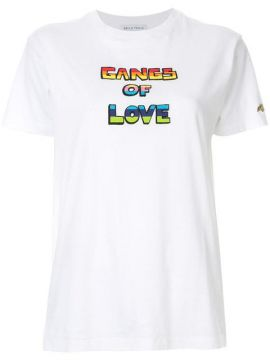 Camiseta Gangs Of Love - Bella Freud