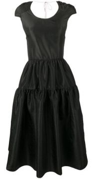 Tiered Cocktail Dress - Cecilie Bahnsen