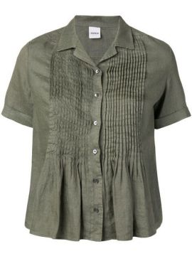 Short-sleeve Pleated Top - Aspesi