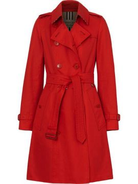 165e20a17 Cotton Gabardine Trench Coat - Burberry