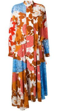 Ossi Patchwork Dress - Dodo Bar Or