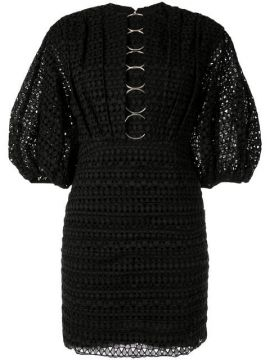 Daniels Embroidered Mini Dress - Acler