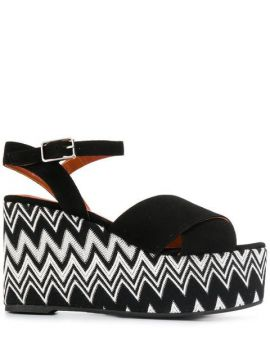 Engie Wedge Sandals - Castañer