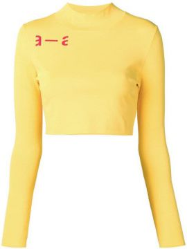 Cropped Long-sleeved Tee - Artica Arbox