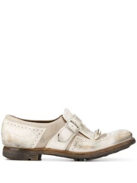 Buckle Detail Loafers - Churchs