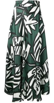 Plant Print Skirt - Altea