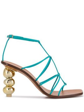 Pebble Heel Sandal - Cult Gaia
