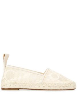Embroidered Espadrilles - Chloé