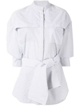 Lincoln Oversized Striped Shirt - Acler