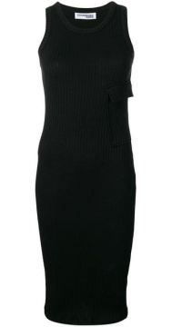 Ribbed Midi Dress - Courrèges