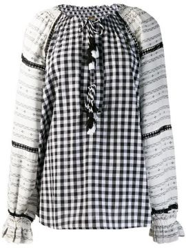 Loose-fit Printed Blouse - Dodo Bar Or