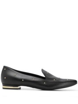 Rounded Stud Loafers - Agl