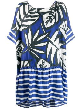 Leaf Patterned Dress - Altea